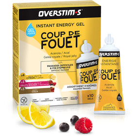 OVERSTIM.s Coup de Fouet Liquid Gel Box 10x30g Mixed Flavors